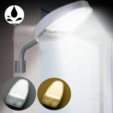 24W Impermeable Pared de control de luz IP65 Lámpara 144 LED Luces de calle para al aire libre Patio AC85-265V