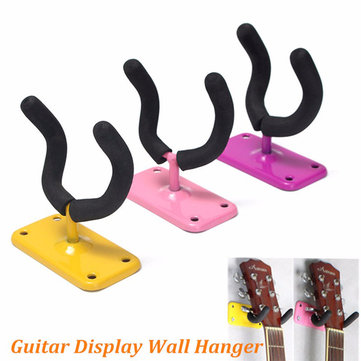 Padded Guitar Display Wall Hanger/Bracket /Hook Bass Electric Acoustic Ukelele