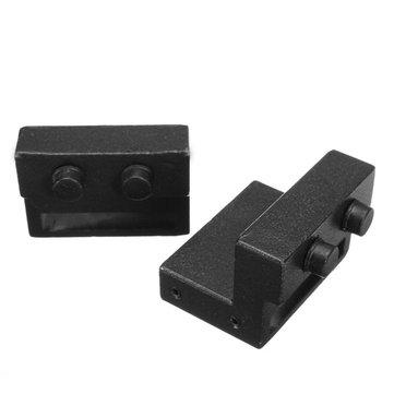 2Pcs Door Stopper Barn Door Sliding Brake Control Rail Hardware Spare Part