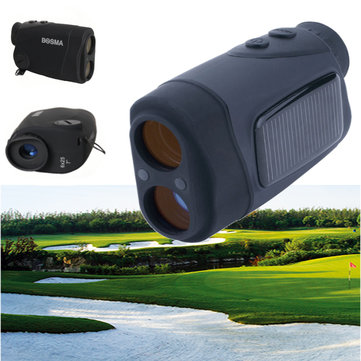 BOSMA 6x25 Solar Energy Golf Laser Rangefinder Portable Waterproof 600M Distance Measure Telescope