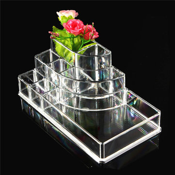 Acrylic Storage Box Case Desk Organizer Pen Holder Home Office Accessories