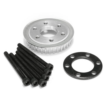 36 Tooth Pulley Kit Parts And Motor Mount DIY For 80MM Wheels