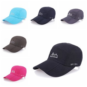 Unisex Waterproof Mesh Baseball Cap Outdooors Sport Quick Drying Sunshade Ultra Thin Breathable Hat