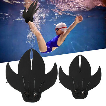 Adult/Kids Mermaid Tail Swimmable Monofin Mono Swimming Fin Foot Flipper Shoes