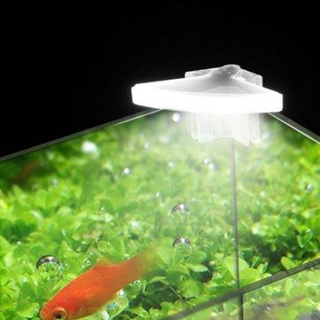3W Mini LED Aquarium Light Clip On Fish Tank Aquatic Plant Lamp AC110V / AC220V