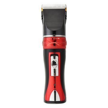 Electric Hair Clipper Adjustable Cutting Length Rechargeable Hair Trimmer Cordless Barber Grooming