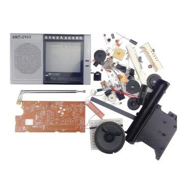 DIY EDT-2902 Multiband Radio Kit FM MW SW1-7 Amplitude Modulation 9 Band Radio Training Kit