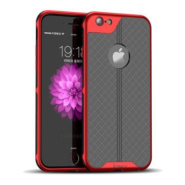 iPakyChapeamentoAntiFingerprintProtectiveCaso Para iPhone 6s Plus/6 Plus PC Dissipação de Calor Duro