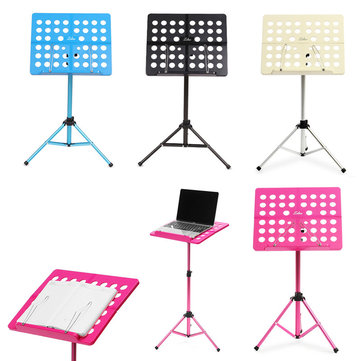 Zebra Adjustable Foldable Alloy Music Rack Stand For Guitar Violin Ukulele Musical Instruments