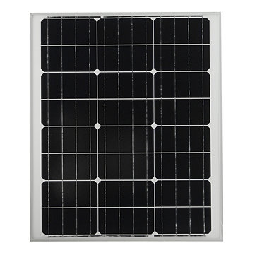 Elfeland® M-60A 60W 12V Mono A-Class Chip Solar Panel Battery Charger For Boat Caravan