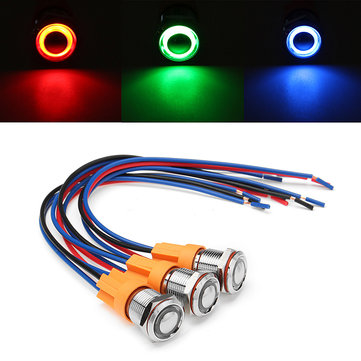 12v 24v 4pin 12mm metal on off led push button switch wiring harness 12v 24v 4pin 12mm metal on off led push button switch wiring harness switch