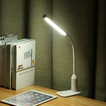 ARILUX® AL-TL02 Flexible Clamp 6W LED USB Touch Dimmable Reading Table Lamp Clip On for Desk Bed