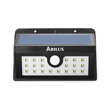 ARILUX® AL-SL02 Wireless Solar Powered 20 LED Waterproof PIR Motion Sensor Outdoor Wall Light