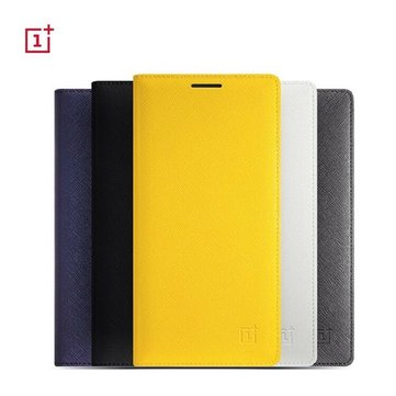 Original Flip Leather Hall Switch Function Protective Cover Case For OnePlus Two