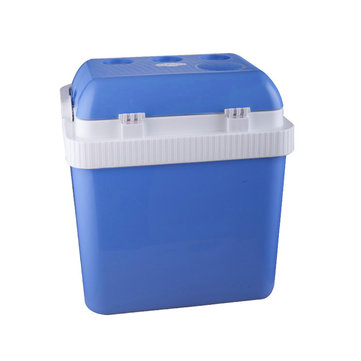 12V 24L Car Boat Electric Cooler Warmer Portable Mini Fridge Refrigerator Car Ice Box