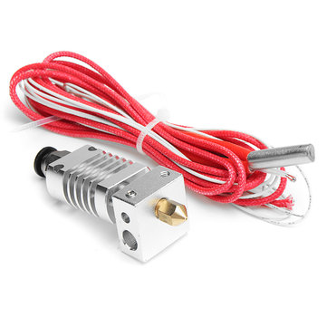 V6 1.75mm All Metal J-Head Hotend Remote Extruder Kit with Heating tube for CR10 3D Printer
