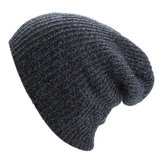 Unisex Oversize Winter Warm Knitted Baggy Beanie Cap