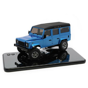 $108.79 for Orlandoo-Hunter OH32A03 1/32 DIY Kit Unpainted RC Car Rock Crawler w/ Electronic Parts