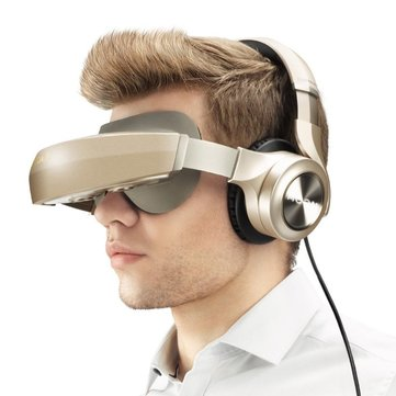 ROYOLE MOON All In One With HIFI Headphones 3D Virtual Reality VR Glasses Touch Control Cinema
