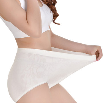Breathable High Waist Women Panties