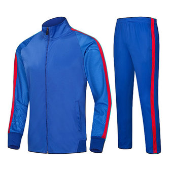 Outdoors Sports Suit Mens Breathable Casual Stitching Color Outfits Running Training Sportswears