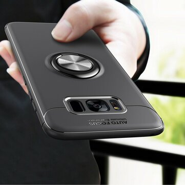 C-KU 360º Rotating Ring Grip Kicktand Protective Case For Samsung Galaxy S8