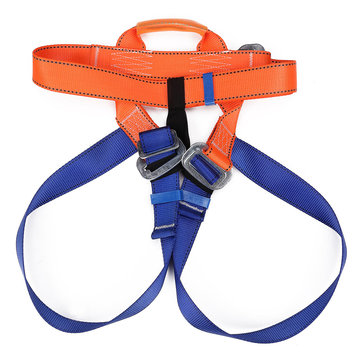 Outdoor Rock Climbing Safety Belt Strap Harness Bust Waist Protection Rappelling Equipment Speed Kit