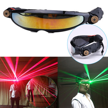 140x40mm Red Laser Glasses Lighting Visible Beam Stage DJ Dancer