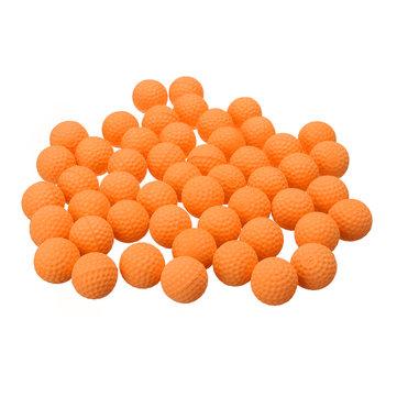 50Pcs Orange Round Заменить бал для Nerf Rival Apollo Zeus Toys