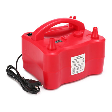 Timing 700W Power Electric Dual Nozzle Balloon Air Pump Portable Inflator Blower