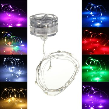 1M LED String Fairy Waterproof Petals Light Party Lamp Xmas Tree Wedding Decor
