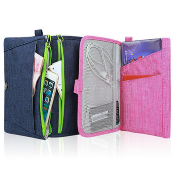 BUBM Multifunctional Powerbank Earphone Usb Cable Mobile Phone Wallet Digital Accessories Storage Bag