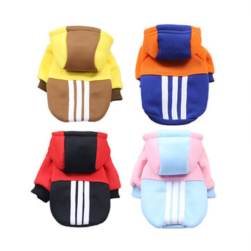 Pet Fashion Sport Hoodie Autumn and Winter Dog Cat Clothes Small Dog Coats Fashion Puppy clothes
