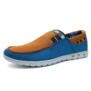 Men Casual Comfortable Slip On Loafers Flats