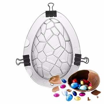 3D DIY Easter Dinosaur Eggs Mould Chocolate Baking Mold Dinosaur Eggs Cake Molds Wedding Birthday Cake Decorating Baking Tools