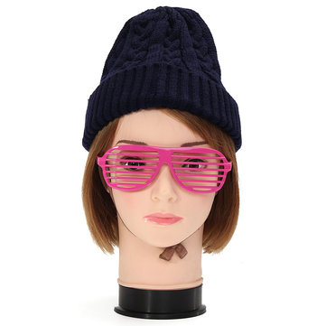 Female PE Head Model Mannequin Manikin for Wig Hair Glasses Display