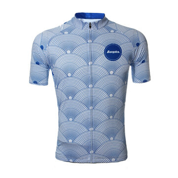 Mens Breathable Cycling Jerseys Summer MTB Cycling Clothing Bicycle Short Sportswear Bike Clothes