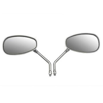 10mm Motorcycle Motor Bike Rear View Side Mirror For Honda/Kawasaki/Suzuki