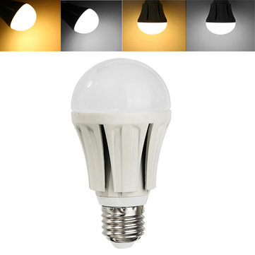 E27 9W SMD2835 48LEDs 900LM Warm White Cool White Globe Light Bulb No Flicker AC85-265V