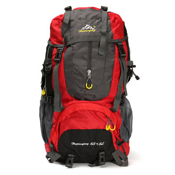 Outdoor 70L Waterproof Rucksack Backpack Camping Hiking Trekking Travel Shoulder Bag Pack