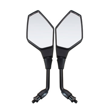 Buy 10mm Motorcycle Rearview Side Mirrors For Motorcycle Electric Bike Scooter for $12.99 in Banggood store