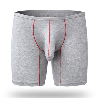 Mens Modal Long Sports Elephant Shaped U Convex Pouch Boxers