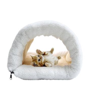 ที่นอนสำหรับสัตว์เลี้ยง 2 ใน 1 แผ่นรองพื้นสำหรับสุนัขสัตว์เลี้ยงขนาดเล็กสำหรับสัตว์เลี้ยง