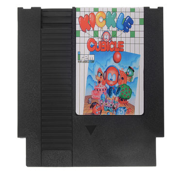 Kickle Cubicle 72 Pin 8 Bit Game Card Cartridge for NES Nintendo