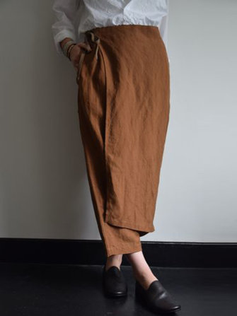 Plus Size Vintage Women Cotton Palazzo Hippie Pants