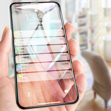 Bakeey 6D Arc Edge Anti Fingerprint Tempered Glass Screen Protector for iPhone XS Max