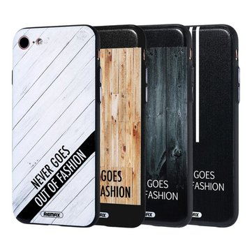 Remax Wood Texture PC Shockproof Back Case For iPhone 7 4.7 Inch