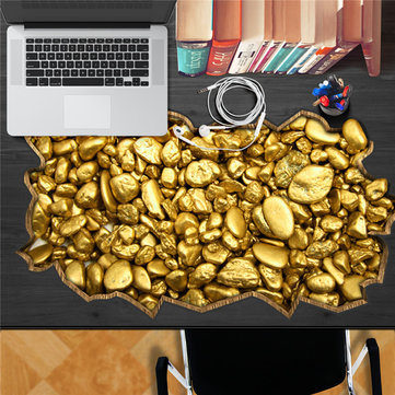 Exchequer Gold PAG STICKER 3D Desk Sticker Wall Decals Home Wall Desk Table Decor Gift