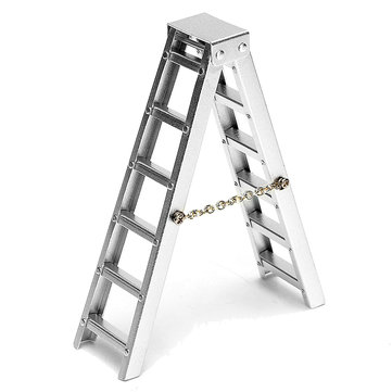 1/10 Simulation Aluminum Alloy Ladder For RC Car D90 SCX10 Remote Control Crawler Car Accessories