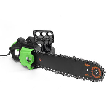 16 Inch 2800W 220V Electric Saws Chain Saw Bracket Set Electric Chainsaw Bracket Woodworking Tool
